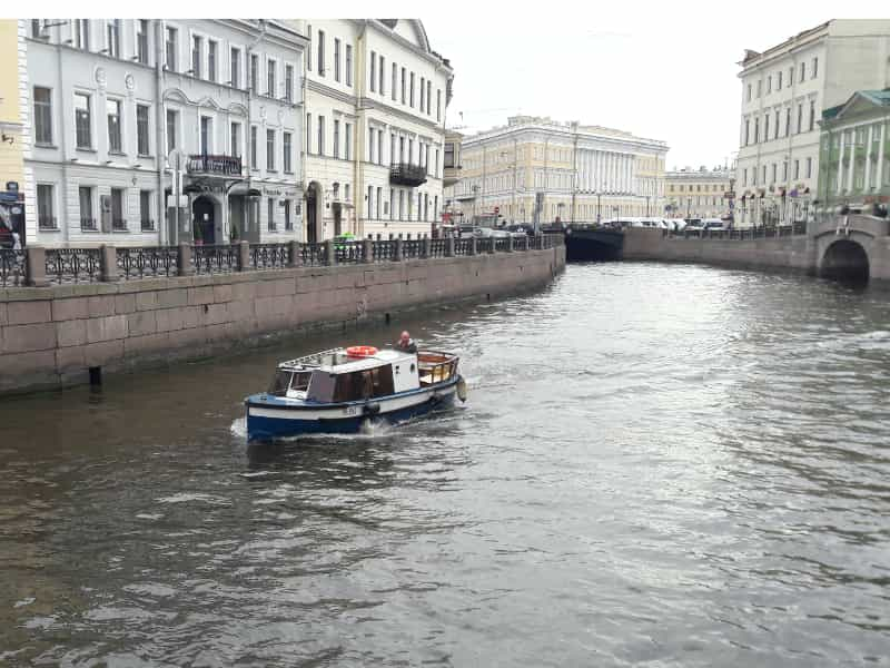 St Petersburg Boat Tour